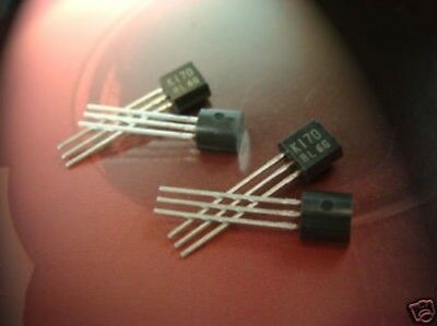 2sk170 Toshiba Fet Transistor N Channel Quad Match 4pcs