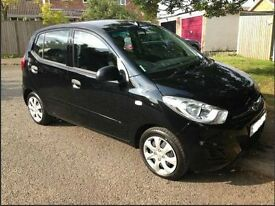 2013 HYUNDAI I10 Classic Black 5dr Low Mileage 12 Month MoT Tax, 1 Owener, £20 Tax, Fuel Economy.