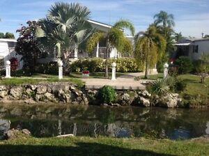 Maison mobile 3 chambres Park Lake, Hallandale, FL