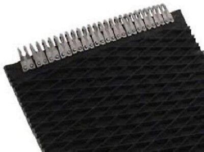 John Deere 559 Round Baler Belts Complete Set 3 Ply Diamond Top Wmato Lace