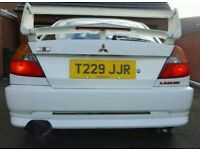 MITSUBISHI EVO 6 VERY RARE UK RALLIART AWD 4WD 4X4 RS GSR MOT AND TAXED HPI CLEAR MAY PX FOR DIESEL