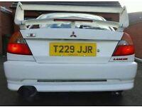 MITSUBISHI EVO 6 UK RALLIART VERY RARE MODEL HPI CLEAR SERVICE HISTORY 4X4 AWD 4WD 300BHP