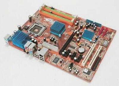 Abit IL8 Mainboard 775 Intel 945P ICH7 DDR2 ATX 3xPCIeX1 4xSATA IDE 8xUSB NEU