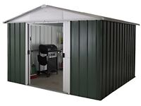 Yardmaster 10x8 apex metal shed -brand new