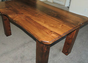 Hand crafted tables by Deep Forest in fanny bay Comox / Courtenay / Cumberland Comox Valley Area image 2