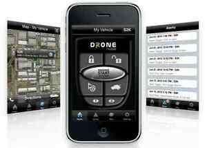 Smartphone remote start. NO monthly fee. smartphone control