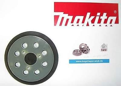 Original Makita Schleifteller 743081-8 123mm 743051-7 Exzenterschleifer BO5010