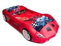 Red Sports Car Bed
