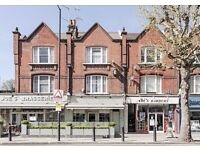 Two bedroom split level duplex apartment to let in Sands End, Fulham.