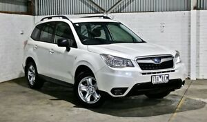 2014 Subaru Forester S4 MY14 2.5i Lineartronic AWD White 6 Speed Constant Variable Wagon Thomastown Whittlesea Area Preview