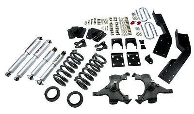 Belltech 95-99 Chevy/GMC Suburban 2WD 5/7 Drop w/SP Shocks Lowering Kit 784SP