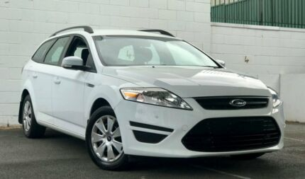 2011 Ford Mondeo MC LX PwrShift TDCi White 6 Speed Sports Automatic Dual Clutch Wagon Ashmore Gold Coast City Preview