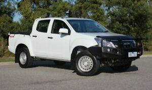 2014 Isuzu D-MAX MY14 SX Crew Cab White 5 Speed Sports Automatic Utility Officer Cardinia Area Preview
