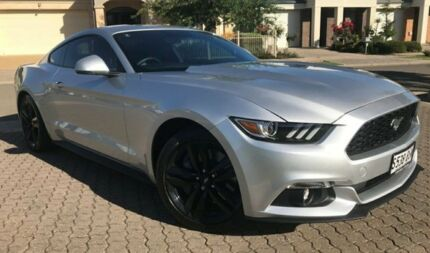 2016 Ford Mustang FM Fastback SelectShift Silver 6 Speed Sports Automatic Fastback
