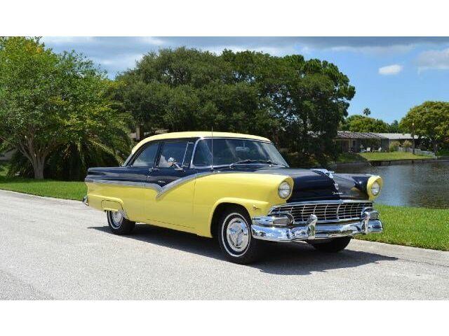 Ford: Fairlane 292 v 8 two tone paint custom interior overdrive