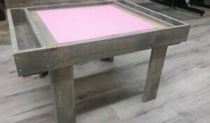 Pink & Grey Lego Table - Brand NEW