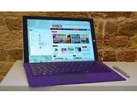Microsoft Surface 3 + Type Cover + Surface Pen *MINT CONDITION*