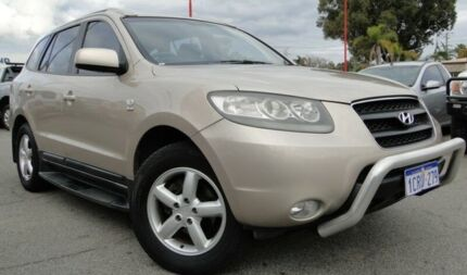 2007 Hyundai Santa Fe CM MY08 SLX Gold 5 Speed Sports Automatic Wagon Bellevue Swan Area Preview