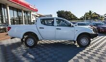 2012 Mitsubishi Triton MN MY12 GLX Double Cab White 4 Speed Automatic Utility Alfred Cove Melville Area Preview