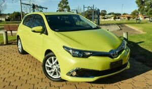 2017 Toyota Corolla ZRE182R Ascent Sport S-CVT Yellow 7 Speed Constant Variable Hatchback Ingle Farm Salisbury Area Preview