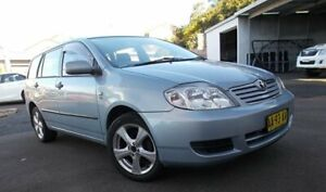 2004 Toyota Corolla ZZE122R Ascent Shimmer 4 Speed Automatic Wagon