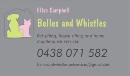 Belles and Whistles Home and Pet Care Services