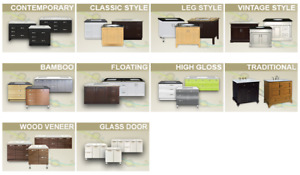 ★ ★ ★ Bathroom vanity / vanities / cabinet / cabinets on sale