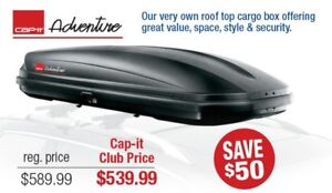 SAVE NOW - Cap-it Adventure Cargo Roof Box