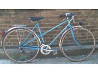 French vintage road ladies bike frame size 20inch MINT CONDITION 10 speed, serviced WARRANTY