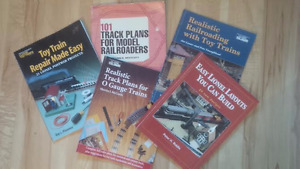 5 Model Railway Books - All for $30 o.b.o.