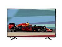 "Hisense 49"" smart 4k Tv UHD freeview HD warranty Boxed"