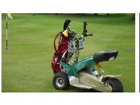 golf buggy - fairway rider G3