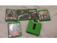 Xbox one Games and accessories bundle official remote control, Forza 6, + More