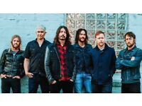 2 x seated Foo Fighters tickets next Fri 22nd London