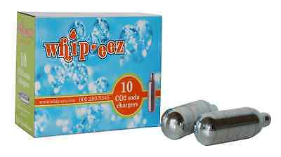 40 WHIP-EEZ Co2 SODA CHARGERS/CARTRIDGES for SODA SIPHON - C02, MAKE -