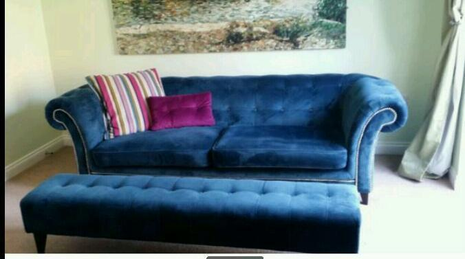 Ikea Wohnzimmer Zusammenstellen ~   with matching footstool  in Stoke on Trent, Staffordshire  Gumtree
