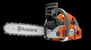 New Husqvarna 550XP Scratch N Dent SALE! Save $100 Rare Sale on Professional Saw
