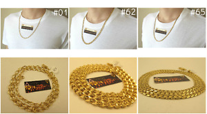 NEW Yellow Gold Filled Womens/Mens Chains 24''