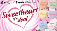 Get a Sweetheart of a Deal at Sterling Trailers