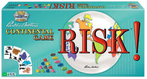 RISK! CONTINENTAL GAME FIRST EDITION AT TEDDY N ME