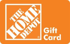 WANTED HOME DEPOT/RONA/LOWES GIFT CARDS