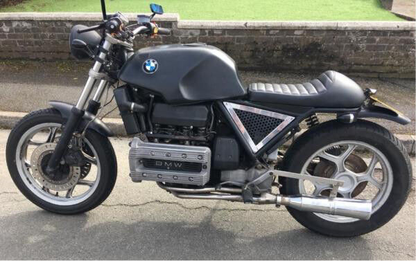 BMW K100 rs professionally modified 1000cc Brat/ tracker style motorbike    in Plymouth, Devon   Gumtree