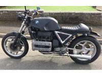 BMW K100 rs professionally modified 1000cc Brat/ tracker style motorbike