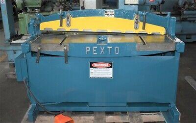 52 X 16 Ga Pexto Ph452 Hydraulic Squaring Shear - 29005