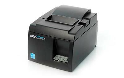 Star Tsp100 Tsp143iiil Futureprnt Lan Receipt Printer Gray - Black - New