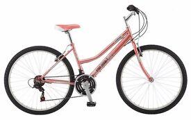 Brand New Mountain Bike with Helmet and Lock
