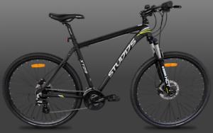 Hybrid Bicycle - 24 Speed Hydraulic Disc Brake Bike - Brand New