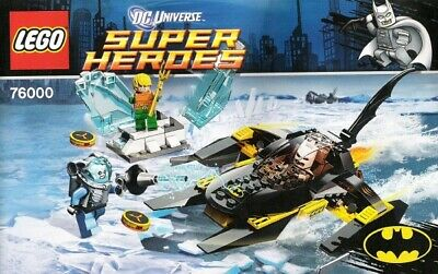LEGO Arctic Batman vs.Mr. Freeze Aquaman on Ice #76000 & Catwomen Catcyle #6858