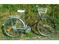 Ladies Raleigh vintage townbike