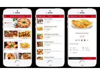 MOBILE APP FOR TAKEAWAYS & RESTAURANT TAKEAWAY & RESTAURANT APP DEVELOPER ONLINE MARKETING SEO VIDEO